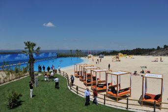 Turismo: inauguração da praia artificial de Mangualde